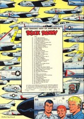 Verso de Buck Danny -5c1979- Dans les griffes du Dragon Noir