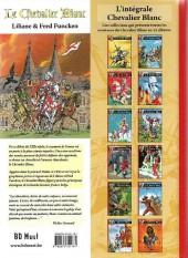 Verso de Le chevalier blanc (BD Must) -11TL- L'héritier de la horde d'or