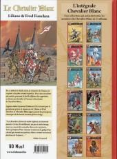 Verso de Le chevalier blanc (BD Must) -12TL- Le trésor des cathares
