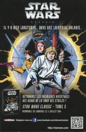 Verso de Star Wars - Comics magazine -10A- Luke face aux serpents dragons !