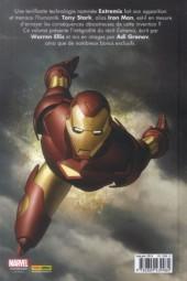 Verso de Iron Man : Extremis -a- Extremis