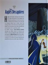 Verso de Les aigles décapitées -10a1998- L'héritier de Crozenc