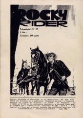 Verso de Buffalo Bill (Jeunesse et Vacances) -8- La Vengeance de Lord