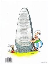 Verso de Astérix (Hachette) -6d14- Astérix et Cléopâtre