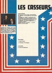 Verso de Les casseurs - Al & Brock -1- Haute tension