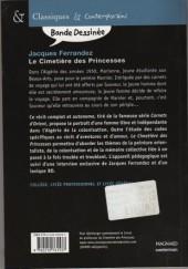 Verso de Carnets d'Orient -5Sco- Le Cimetière des Princesses