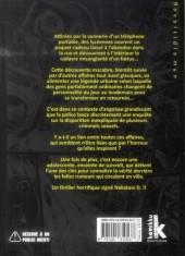 Verso de Reversible man -2- Volume 2
