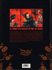 Verso de L'ombre des Shinobis -1- Premier rouleau