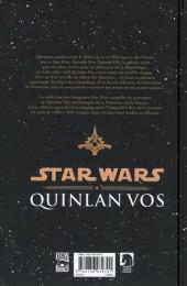 Verso de Star wars - Quinlan Vos -1- Volume I