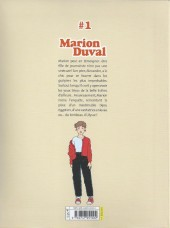 Verso de Marion Duval -INT1- Tome 1