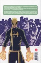 Verso de Iron Fist (100% Marvel - 2008) -1a- L'histoire du dernier Iron Fist