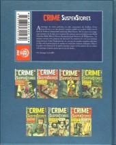 Verso de Crime SuspenStories -2- Volume 2