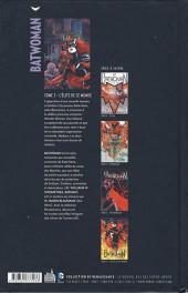 Verso de Batwoman -3- L'Élite de ce monde