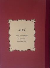 Verso de Alix -1TLa- Alix l'intrépide
