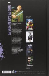 Verso de La Saga de Ra's Al Ghul  - La Saga de Ra's Al Ghul