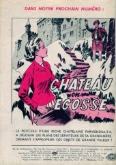 Verso de Frimousse et Frimousse-Capucine -63- Echec à Cromwell