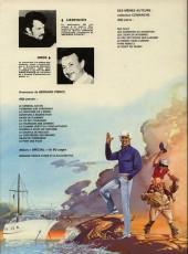 Verso de Bernard Prince -8a1977- La flamme verte du conquistador