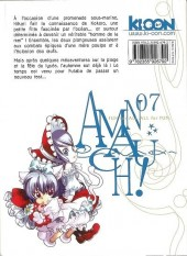 Verso de Amanchu ! -7- Tome 7
