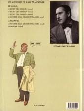Verso de Blake et Mortimer (Les Aventures de) -2a1987- Le Secret de l'Espadon - Tome 2