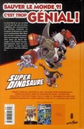 Verso de Super dinosaure -2- Tome 2