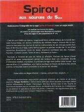 Verso de Spirou et Fantasio -2- (Divers) - Spirou aux sources du s...