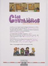 Verso de Les cavalières -3- Pour l'amour d'un poulain