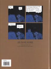 Verso de Les olives noires -1- Pourquoi cette nuit est-elle différente des autres nuits ?