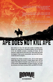 Verso de Betrayal Of The Planet Of The Apes (2011) -INT- Betrayal Of The Planet Of The Apes