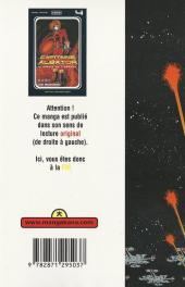 Verso de Capitaine Albator - Le pirate de l'espace -4- Captain Harlock (n°04)
