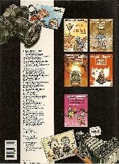 Verso de Spirou et Fantasio -HS01 b1991- L'héritage