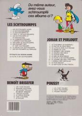 Verso de Les schtroumpfs -11- Les schtroumpfs olympiques