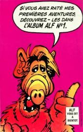 Verso de Alf -9- Fugue Melmacienne 2e partie