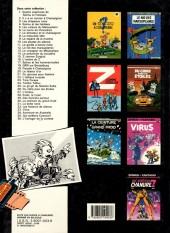 Verso de Spirou et Fantasio -1d1986- 4 aventures de Spirou ...et Fantasio