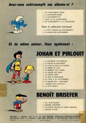 Verso de Johan et Pirlouit -4B70- La pierre de lune