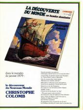 Verso de La découverte du monde en bandes dessinées -3- Marco Polo