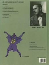Verso de Blake et Mortimer (Les Aventures de) -6b1990- La Marque Jaune