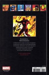 Verso de Marvel Comics - La collection (Hachette) -129- Daredevil - Renaissance