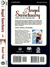 Verso de Angel Sanctuary (2004) -1- Angels, Demons, and Sinners