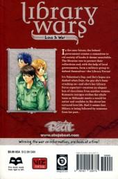 Verso de Library Wars: Love & War (2010) -6- Tome 6