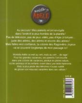 Verso de Mortelle Adèle -7- Pas de pitié pour les nazebroques !