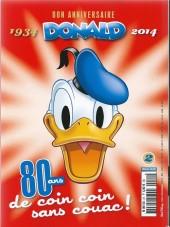 Verso de Picsou Magazine Hors-série Collector -2- Les trésors de Donald 2