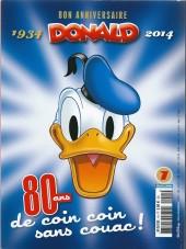 Verso de Picsou Magazine Hors-série Collector -1- Les trésors de Donald 1