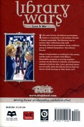 Verso de Library Wars: Love & War (2010) -7- Tome 7
