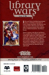 Verso de Library Wars: Love & War (2010) -9- Tome 9