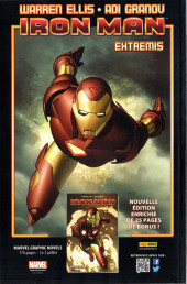 Verso de Iron Man (Marvel France - 2013) -14A- Les Gardiens de la Galaxie