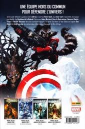 Verso de Les gardiens de la Galaxie (Marvel Deluxe) -1- Héritage