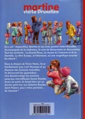 Verso de Martine -HS- Martine visite Bruxelles