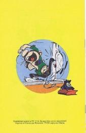 Verso de Gaston (Hors-série) -Pif- Pif gags - schlong