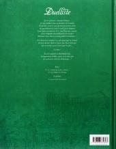 Verso de Duelliste -2- De verre et d'acier