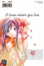 Verso de A town where you live -16- Tome 16